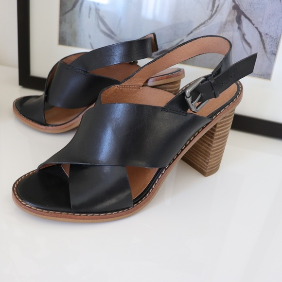 Madewell Ruthie Criss Cross Leather